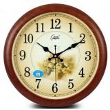 European-style flower 14 inch wall clock