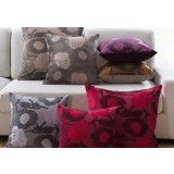 European-style flower pattern pillow