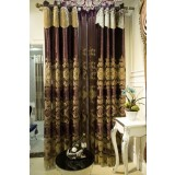 European-style retro lace embroidered curtains