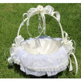 European-style wedding flower girl baskets