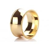 European style alloy napkins ring