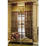 European style embroidered curtains