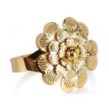 European style florid napkins ring