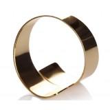 European style golden napkins ring