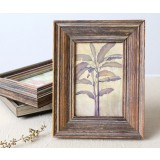 European style retro wooden photo frame