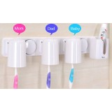 Family Series White toothbrush holder