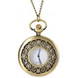 Fashion Bronze Necklace Watch