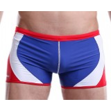 Fashion mixed colors swimming trunks