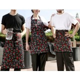 Fashion printing work aprons