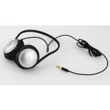 Fashion Silver Neckband Headphones