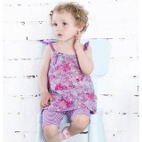 Female baby suits summer wear