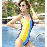 Fight color sexy one-piece swimwear