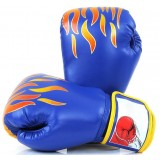 Flame breathable boxing gloves