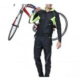 fleece long -sleeved cycling clothing kit