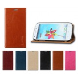 Flip cover leather cell phone case for ZTE Q802T