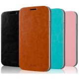 Flip cover leather protective cover for ZTE Q302C