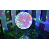 Flower Ball LED holiday lights