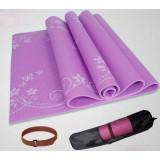 flower pattern thicker non-slip yoga mat