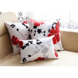 Flowers cotton pillow