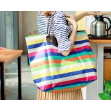 Foldable large capacity waterproof shopping bag
