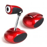 Folding HD webcam with microphone