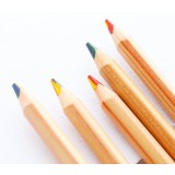 Four-color-core drawing pencil