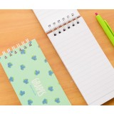 Fruit color coil binding small notebook