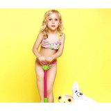 Fruits children bikini swimwear