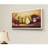 Fruits rectangular oil painting