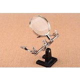 Full Metal Desktop 10X magnifier with clips