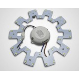 Gear-shaped 12W-20W 5730 SMD LED lights panel
