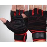 Generic half finger sports gloves