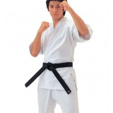 Generic white karate clothing + white belt
