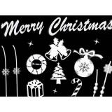 Glass sticker for Christmas