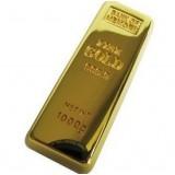 Gold Bullion Usb Flash Drive