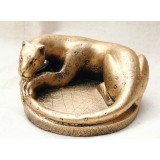 Golden Jaguar ashtray