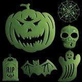 Halloween decoration noctilucent sticker