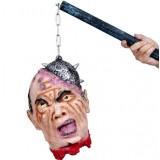 Halloween props horror head ornaments