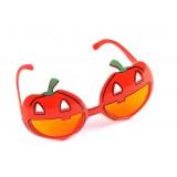 Halloween pumpkin glasses