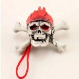 Halloween Skull phone pendants