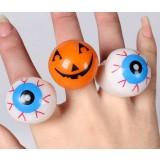 Halloween soft rubber flash ring