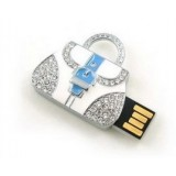 Handbag-shaped jewelry USB flash drive