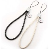 Heart-shaped mobile phone strap