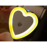 Heart Light control LED baby Night Light