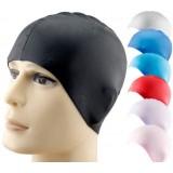 High elastic silicone swimming cap