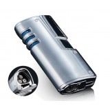 Hollow design cigar windproof lighter