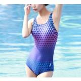Honeycomb patterns sexy one-piece swimwear