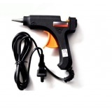 Hot melt glue gun with light