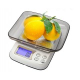 Household kitchen electronic scale 3 kg / 0.1g