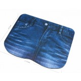 Jeans personalized mouse pad